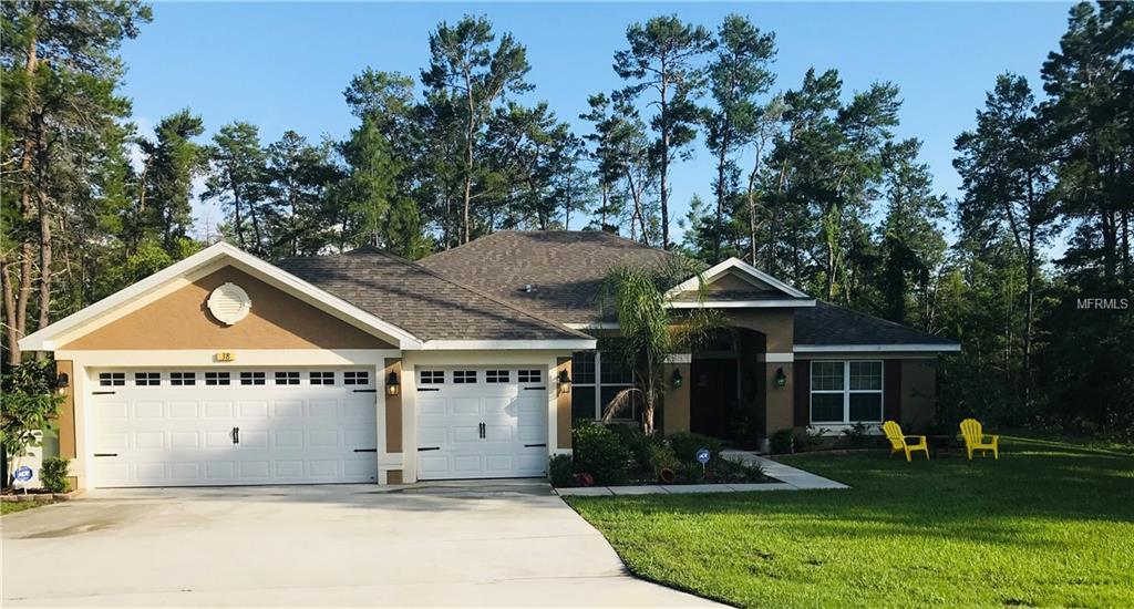 Listing Details for 38 Tall Marigolds Court, HOMOSASSA, FL 34446