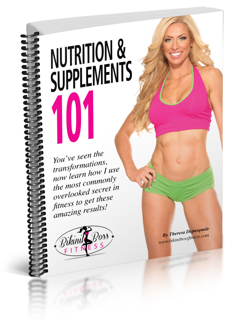 Bikini Boss_Nutrition and Supplements 101 eBook_cover mockup