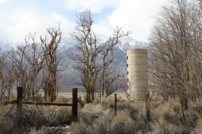 photo of old silo in Round Valley pasture