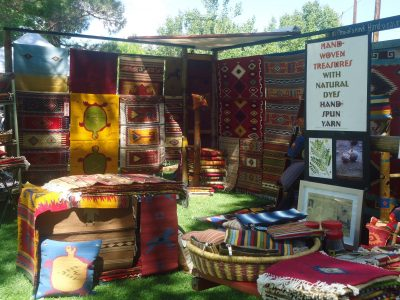 Arts & Crafts fair at Mule Days