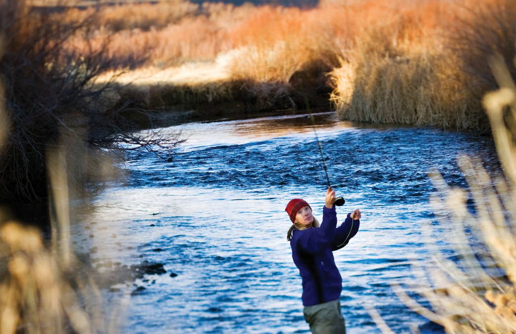 Lower Owens River – Fishing