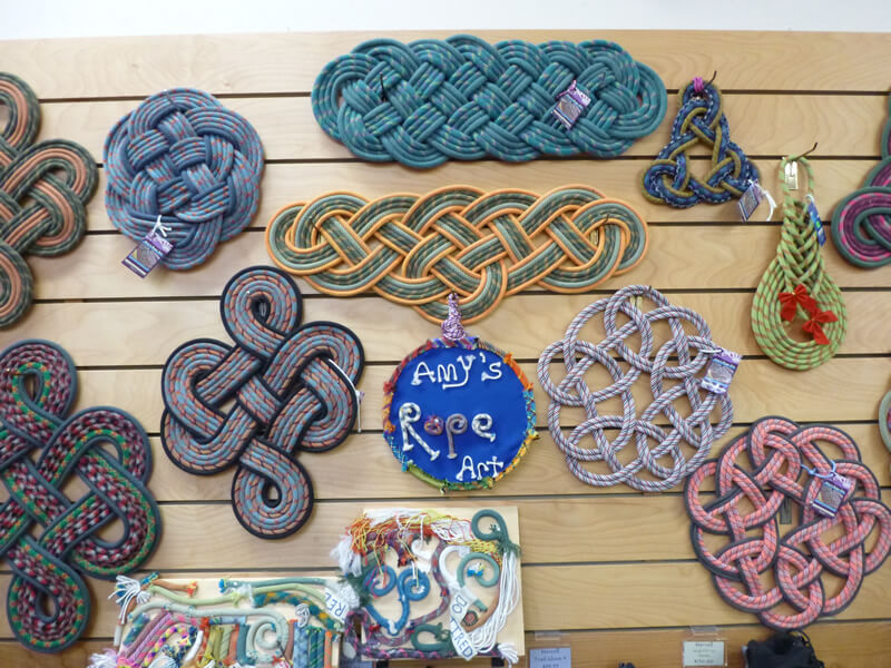 Another Woman's Treasure: Amy Wicks' Climbing Rope Art