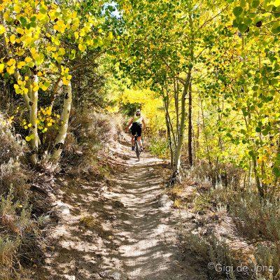 Lower Rock Creek ride - Gigi de Jong