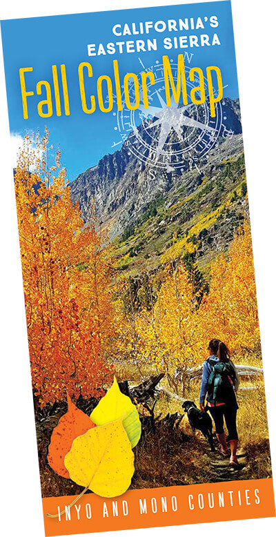 Fall color map brochure cover image
