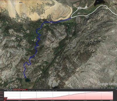 Grass Lake hike map