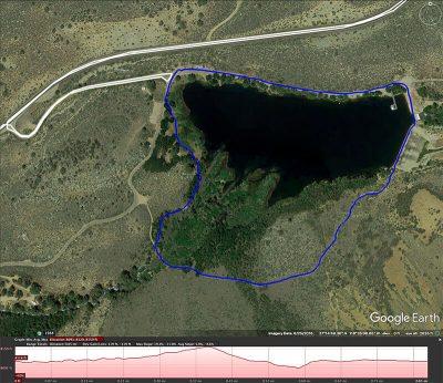 Intake II loop map