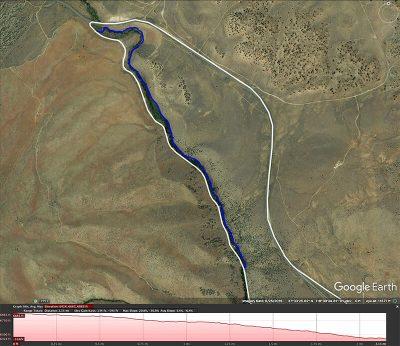 Lower Rock Creek trail map