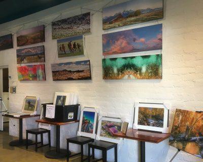 Art exhibit. Bishop. CA