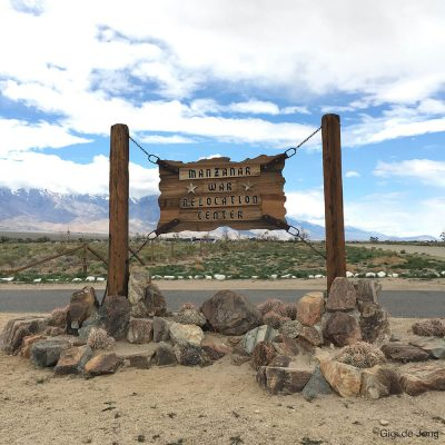 Manzanar National Historic Site. Independence. CA