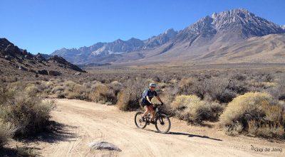 Mountain biking. Buttermilk. Bishop. Ca