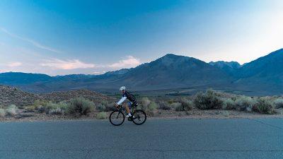 Old Sherwin Grade. Cycling. Bishop.