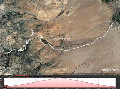 Onion Valley Rd map