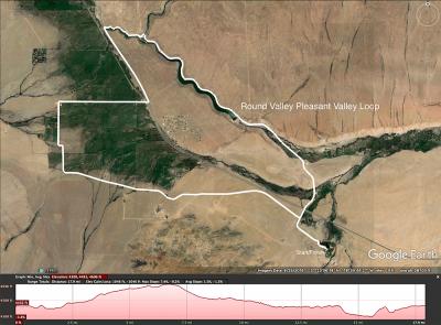 Round Valley Pleasant Valley map