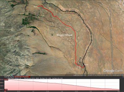 Wagon Wheel trail map
