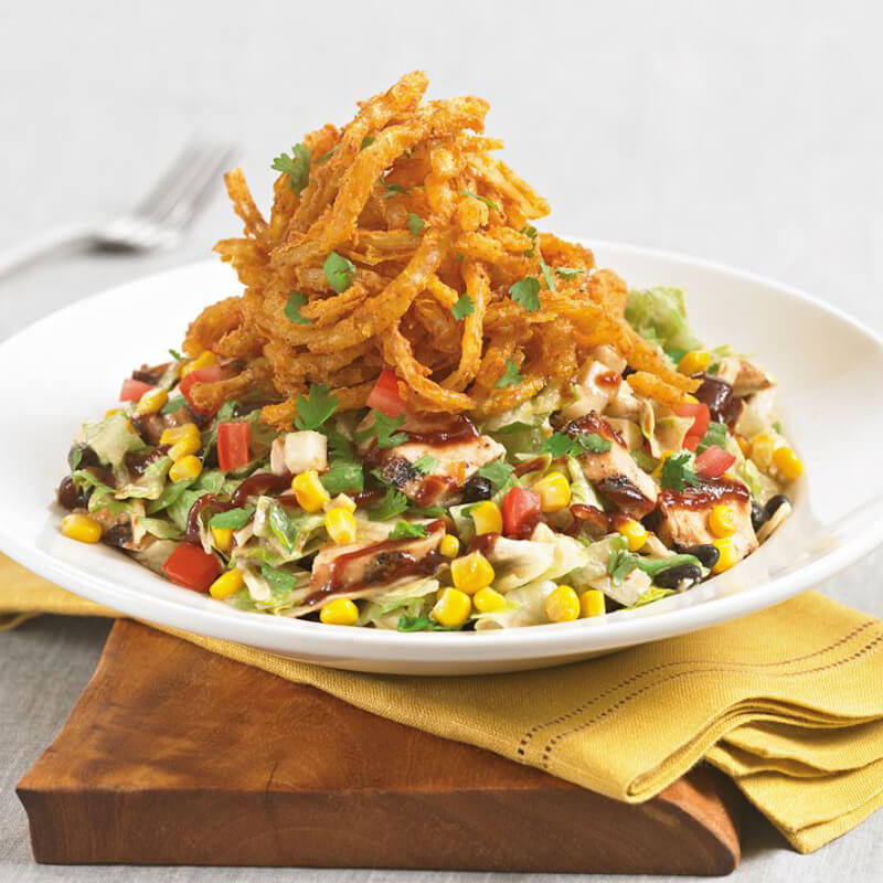 Barbeque chicken chopped salad menu bjs restaurants and brewhouse forumfinder Images