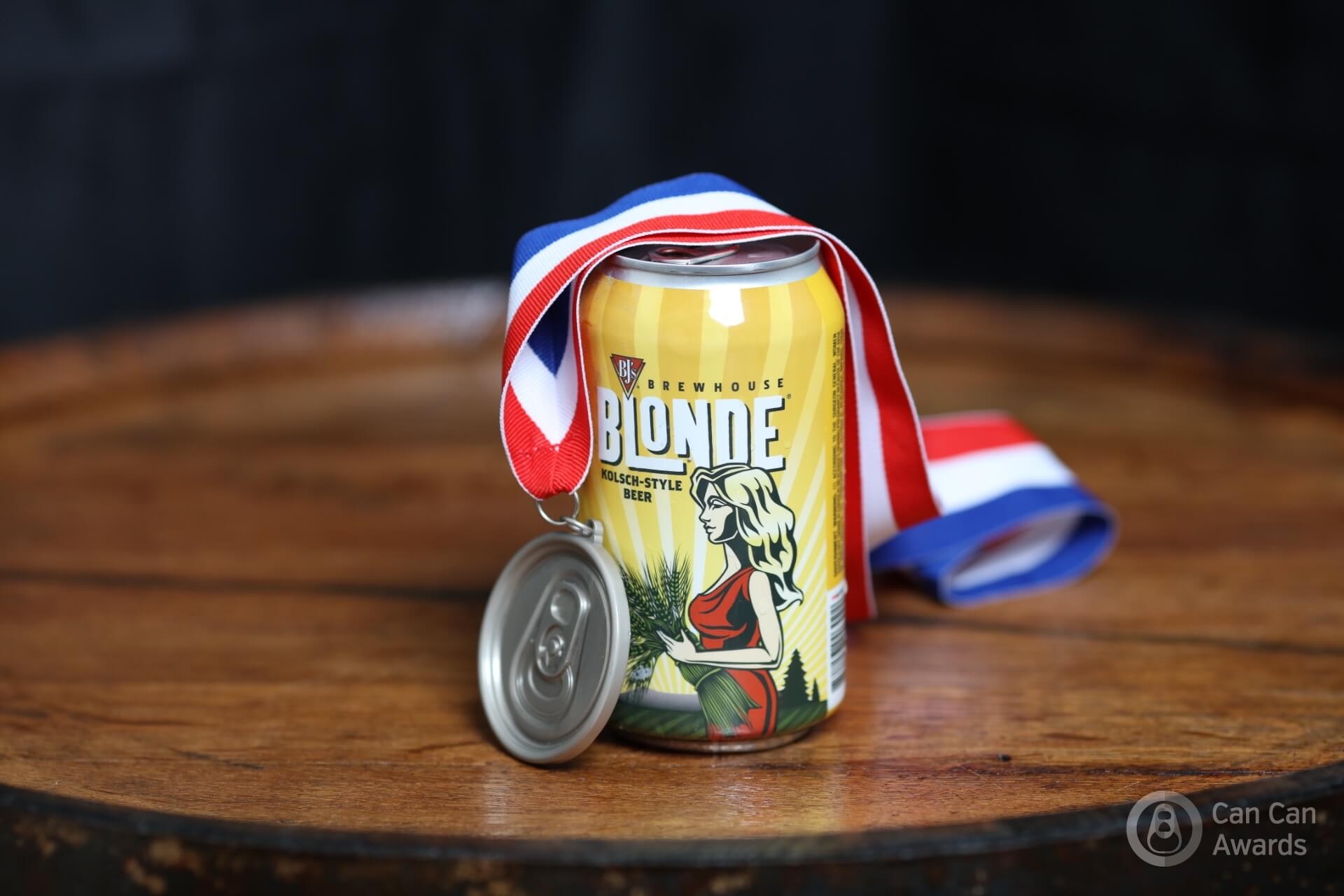BJ's Brewhouse Blonde Wins a Silver Medal at the 2016 Can Can Awards