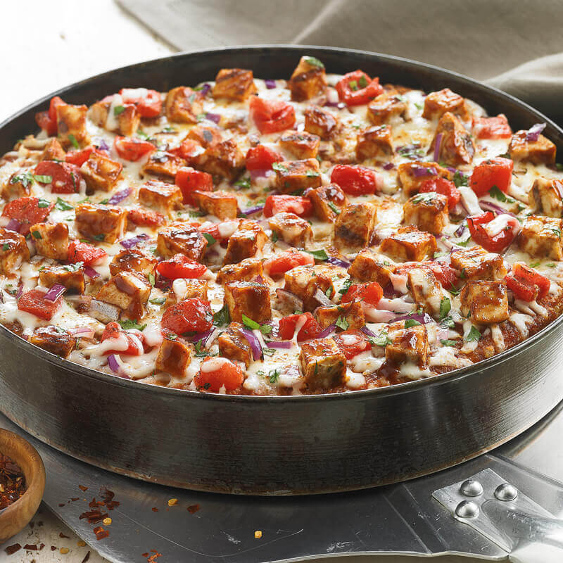 BJ's Barbeque Chicken Deep Dish Pizza