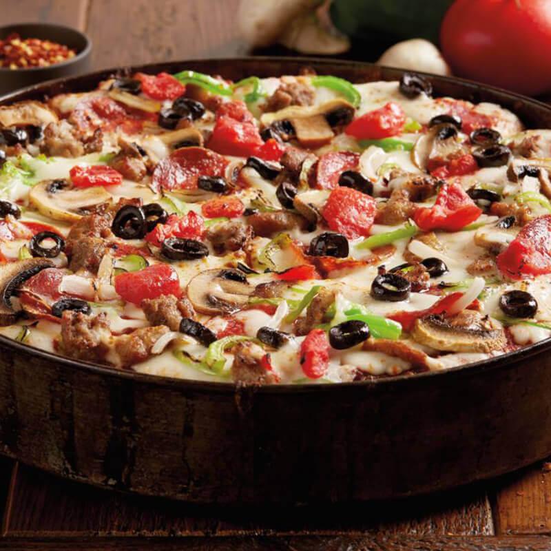BJ's Favorite Deep Dish Pizza