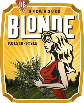 Brewhouse Blonde Kolsch-Style Craft Beer Label