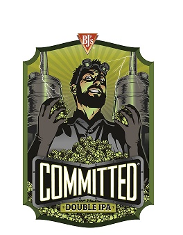 BJ's Committed™ Double IPA Logo