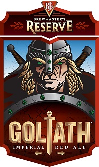 Brewmaster's Reserve Goliath Imperial Red Ale Label Art