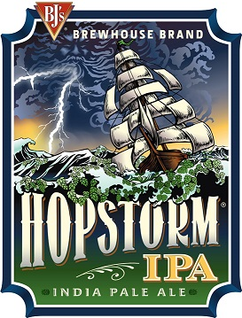 HopStorm® IPA Craft Beer Logo, Label