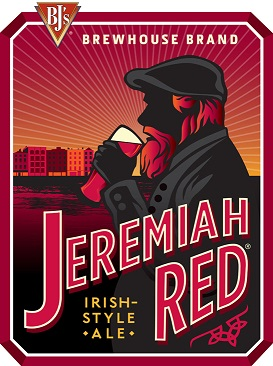 BJ's Jeremiah Red Craft Beer Logo