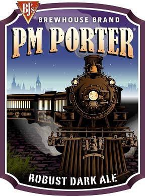 BJ's PM Porter Craft Beer Logo