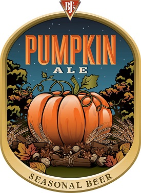 Pumpkin Ale Seasonal Beer from BJ's