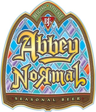 Belgium-Style Abbey Normal Seasonal Beer Label Art