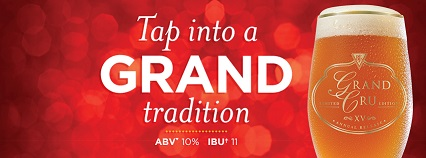 Tap into a grand tradition with BJ's Grand Cru | 10% ABV and IBU of 11