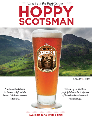 Hoppy Scotsman™ Craft Beer Label Art