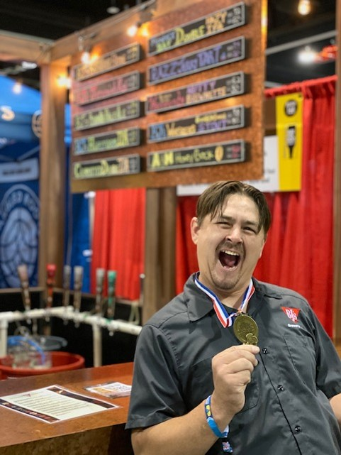 Gold Metal at 2019 Great American Beer Festival for Honey Beer