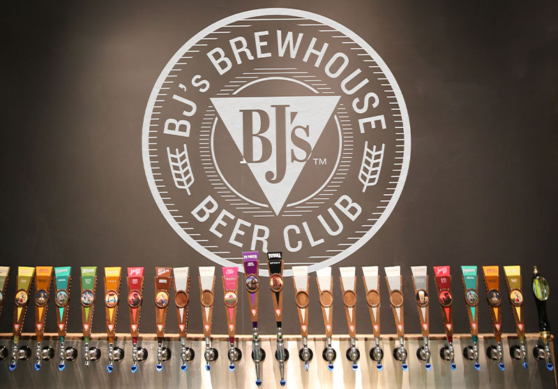 BJ's Brewhouse Beer Club