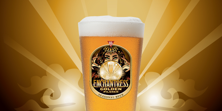 BJ's Enchrantress Golden Pilsner