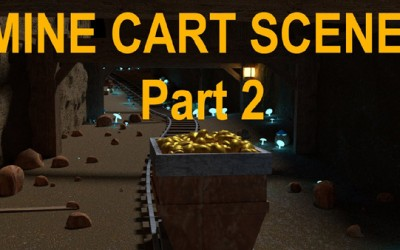 Blender Tutorial – How to make a Mine Cart Using the Freehand Curve Feature (Part 2)