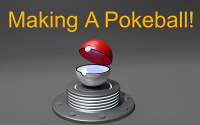 Blender Tutorial – How to Model a 3D Pokeball! (Pokemon) Part 1