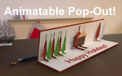Blender 3D Card Tutorial **Fully Animatable**