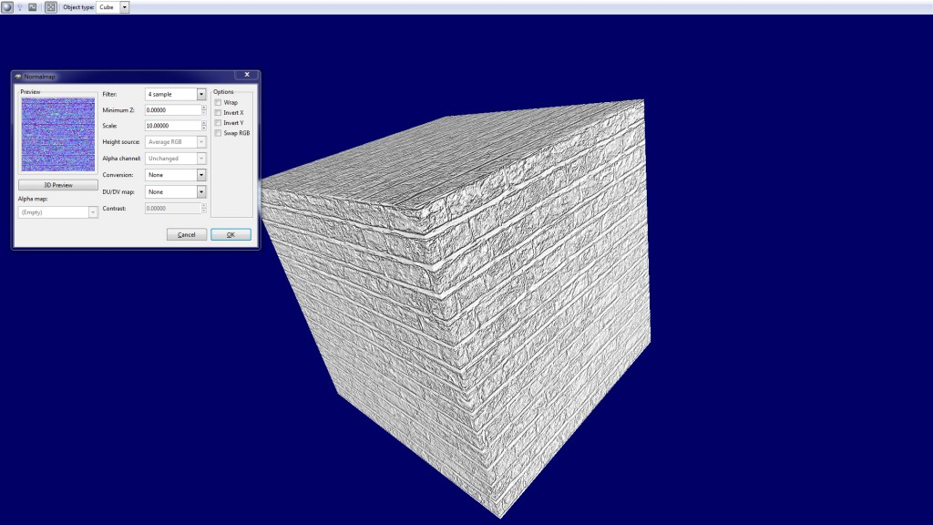 Blender Tutorial – How to Create Normal Maps in Gimp