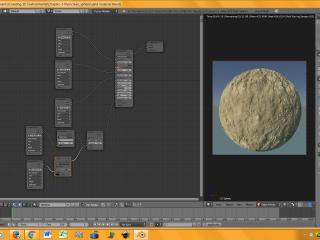 Sandtexture Node Editor Screenshot