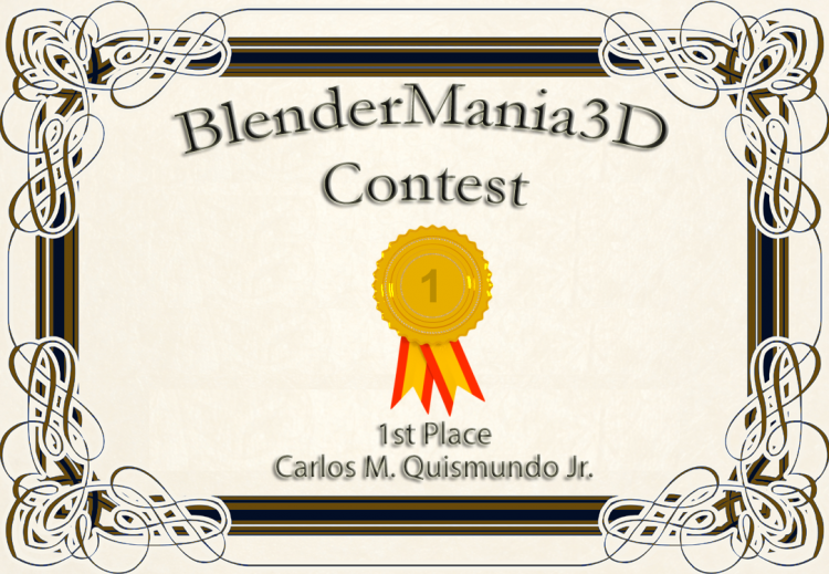 """Congrats to @arcadeous @Senatrius and @purbosky for 1st, 2nd and 3rd place for the """"Mode of Tr"""
