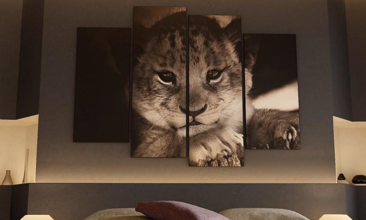 Lion Cub Bedroom Scene for Blender 2.80 Gumroad:https://gum.co/WbnNu/free%20download CubeBrush:h