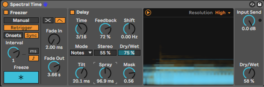 """Creating Lush Custom Pads with Ableton's """"Spectral"""" effects"""