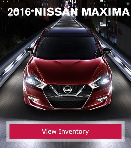New 2016 Nissan Maxima