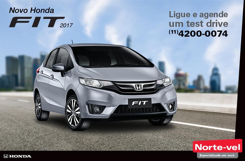 Novo 2017 Honda Fit