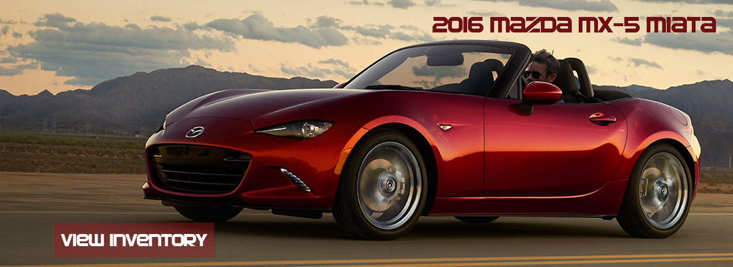 Sport Durst has the all new 2016 Mazda MX-5 Miata