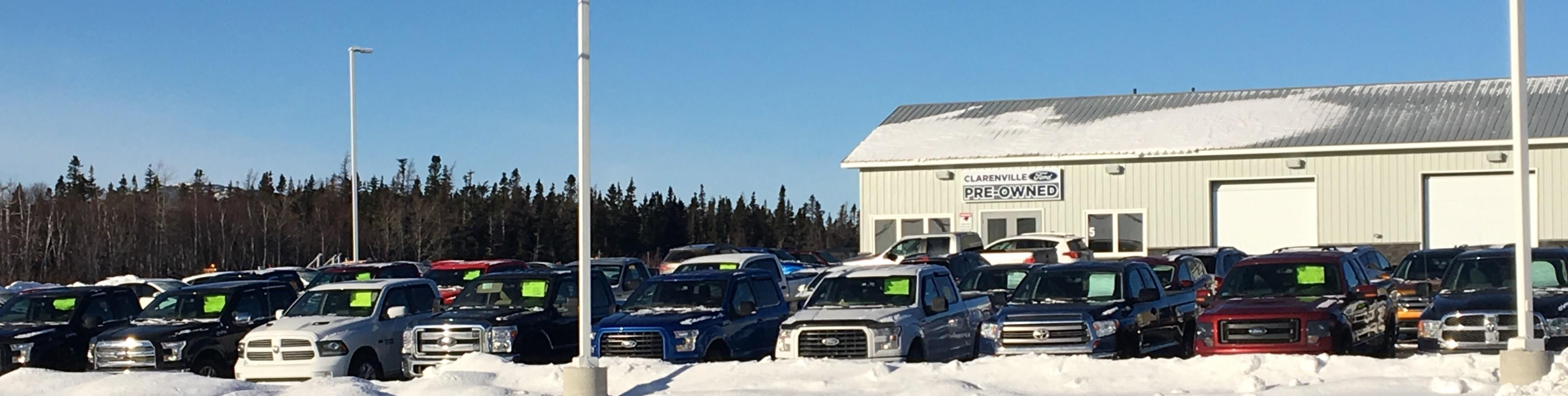 Clarenville Ford Used Inventory