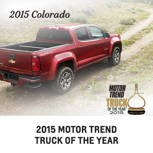 learn more about the 2015 Colorado; Chevy trucks