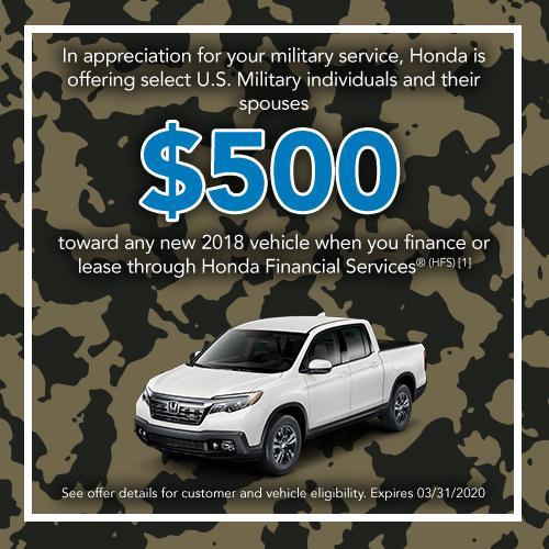 Honda Finance Specials >> New Vehicle Specials Mel Rapton Honda Sacramento Ca