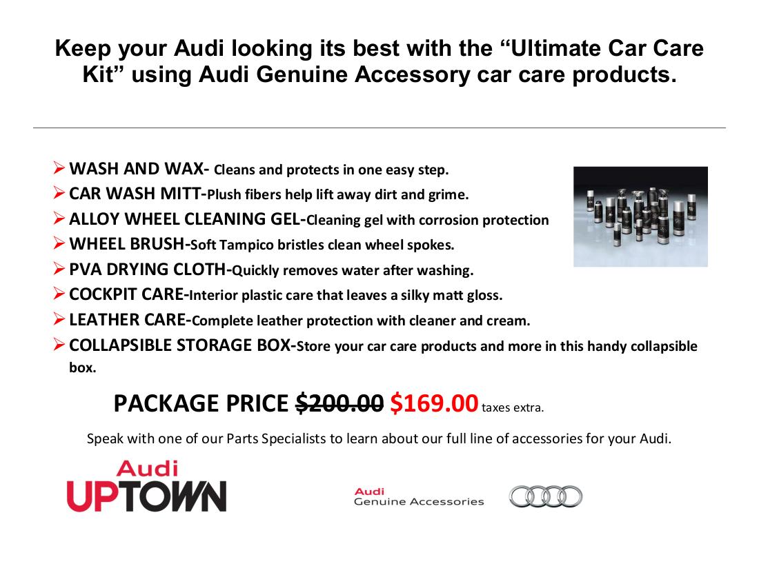 Audi Parts Specials Audi Accessories Specials Markham Audi Parts - Audi parts online